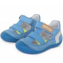 Pantofi decupati din piele pentru baietei DD Step 015-620b