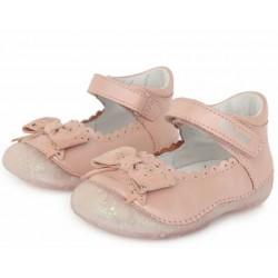 Pantofi decupati din piele pentru fetite DD Step 015-641