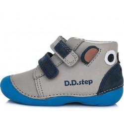 Pantofi baieti din piele ddstep 015-803A