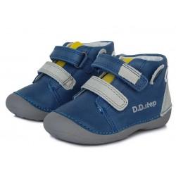 Pantofi baieti din piele ddstep 015-803B
