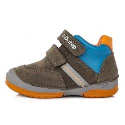 Pantofi baieti din piele ddstep 038-796B