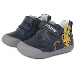 Pantofi baieti din piele ddstep 066-317A