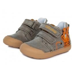 Pantofi baieti din piele ddstep 066-317B
