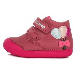 Pantofi fete din piele ddstep 066-69B