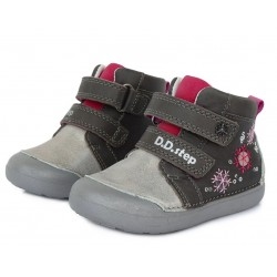 Pantofi fete din piele ddstep 066-938A