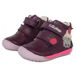 Pantofi fete din piele ddstep 070-612
