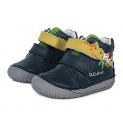Pantofi baieti din piele ddstep 070-880