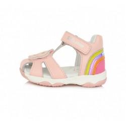 Sandale din piele pentru fete DD Step AC64-78B