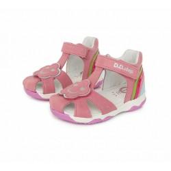 Sandale din piele pentru fete DD Step AC64-78A