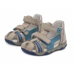 Sandale din piele pentru baieti DD Step AC64-826