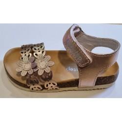 Sandale din piele pentru fete DD Step AC051-246a