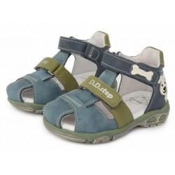 Sandale din piele pentru baieti DD Step AC290-612