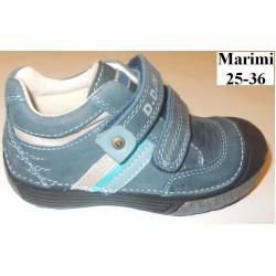 Pantofi baieti din piele dd step 022-36b