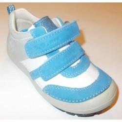 Pantofi baieti din piele dd step 023-35d