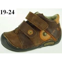 Pantofi din piele baieti ddstep 018-31a