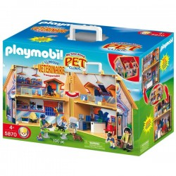 Playmobil clinica veterinara 5870