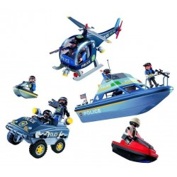 Playmobil 9043 set vehicule de politie
