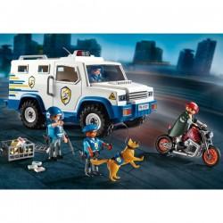 Playmobil 9371 masina de politie blindata