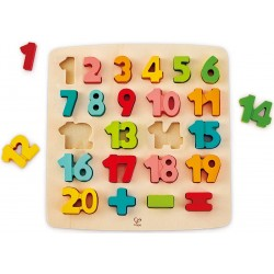 Hape puzzle din lemn matematica E1550