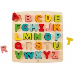 Hape puzzle din lemn alfabetul E1551