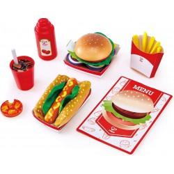Hape set fast food E3160