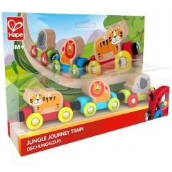 Hape tren calatoria in jungla E3807