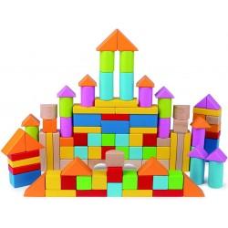 Hape set cuburi din lemn E8247