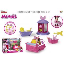 Set Minnie cu birou si masina IMC 182585