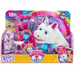 Set veterinar unicorn Little Live 28863