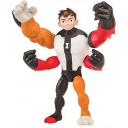 Ben10 figurina Omni-Glitch Heroes Ben-Four Arms-Rath 76100-76141