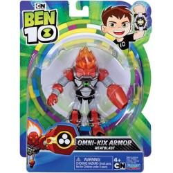 Ben10 figurina Omni Kix Armor Heatblast 76100-76146