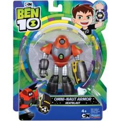 Ben10 figurina Omni-Naut Armor Heatblast 76100-76162