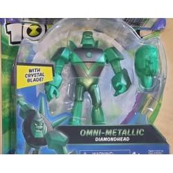 Ben10 figurina Omni-Metallic Diamondhead 76100-76175