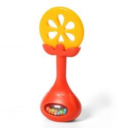 Jucarie dentitie cu sunatoare portocala Babyono 499-01