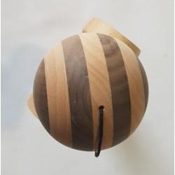 Kendama Bull nature maple walnut circle