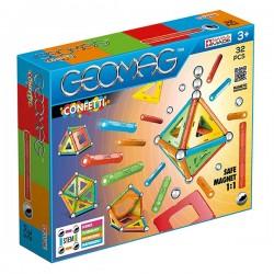Geomag set de constructie magnetic confetti 32 piese 00350