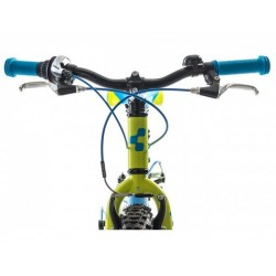 Bicicleta CUBE kid 200 blue lime 2015