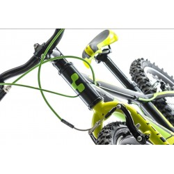 Bicicleta CUBE kid 200 black green 2015