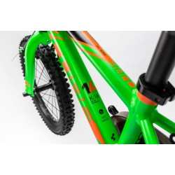 Bicicleta copii CUBE KID 160 Flashgreen Orange 2017