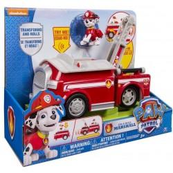 Paw patrol figurina cu autovehicul transformabil
