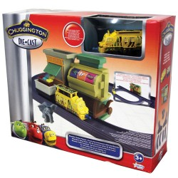 Chuggington Die-cast Set tren Mtambo Safari