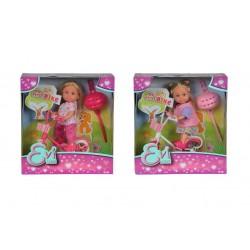 Papusa Evi cu bicileta si casca Simba-toys 105731715