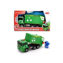 Masina de gunoi cu pompa de aer Dickie 203805000