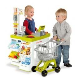 Smoby Supermarket cu cos de cumparaturi 24620