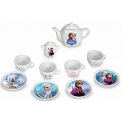 Set ceai din portelan Frozen Smoby