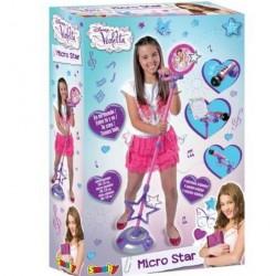 Violetta microfon cu stativ smoby 27223