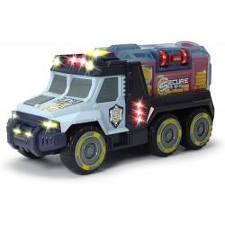 Camion transport bani cu sunete si lumini Dickie-toys 203756005