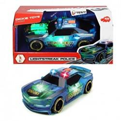 Masina de politie Light Strike Dickie 20 cm