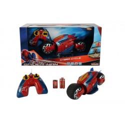 Spiderman motocicleta RC Cyber Cycle