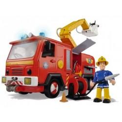 Pompierul Sam masinuta Jupiter cu figurina si accesorii